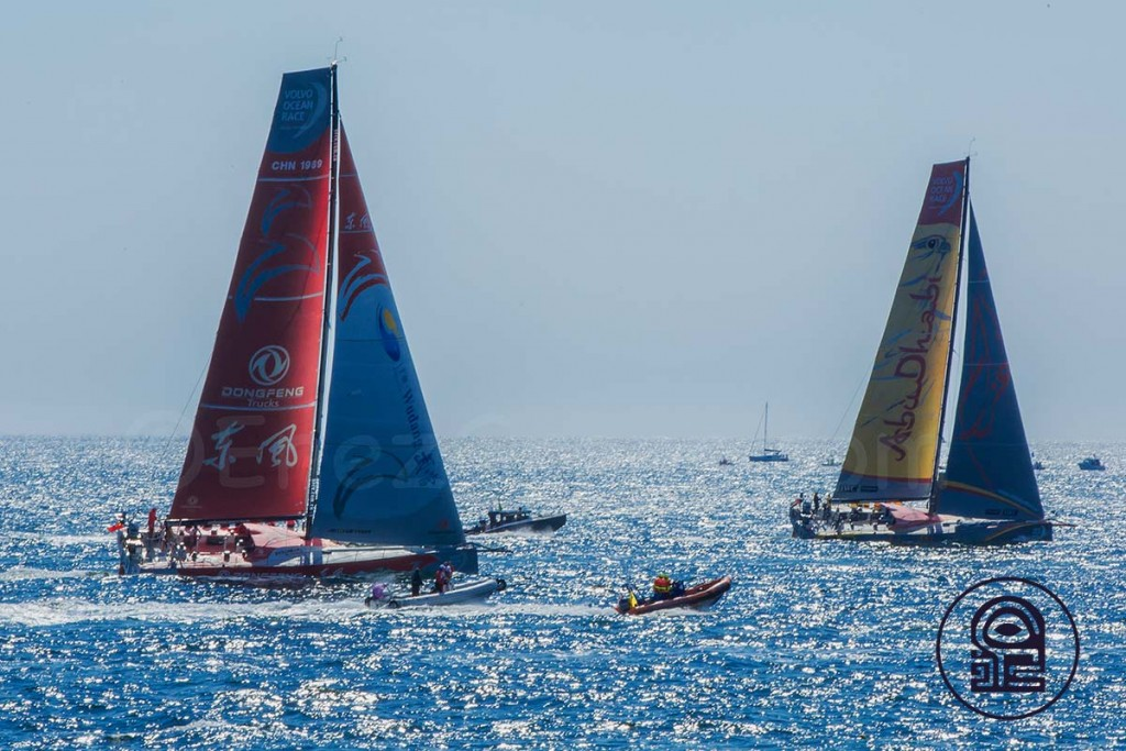 Volvo Ocean Race 2015, Abou Dhabi & Dong Feng